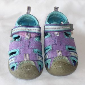 Girls PediPed Sahara Flex Sandals Youth Size 5.5